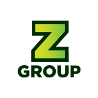 Logo od ZGroup - Zabec.net, Presentia.si, DAT-IT in SPRD.digital